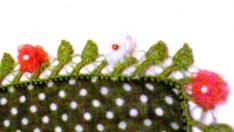 gül oyası tülbent modeli