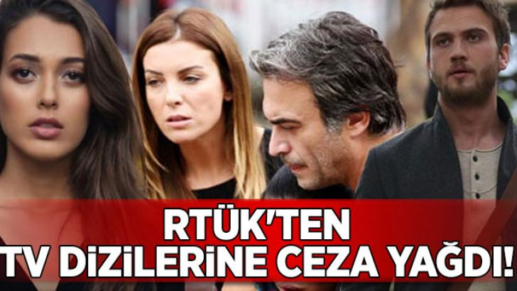 """RTÜK'ten TV dizilerine """"kadını aşağılama ve alkol"""" cezası"""