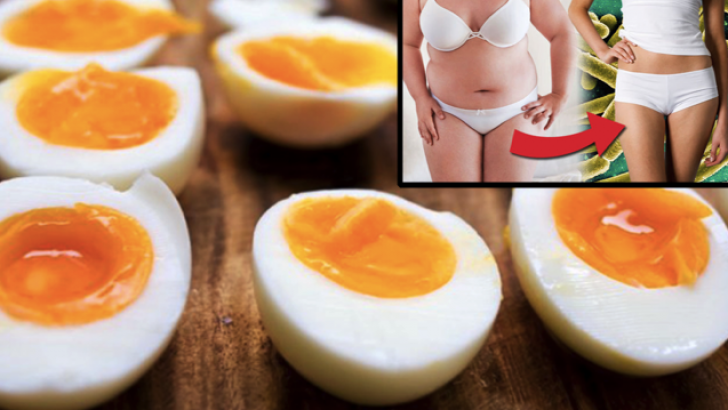 Yedi Günde 4.5 Kilo Verdiren Haşlanmış Yumurta Diyetinin Sırrı