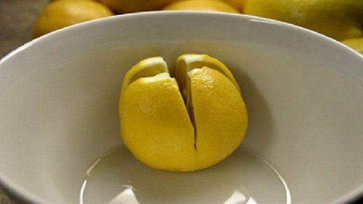 Bir Limonu Kesin Ve Yatak Odanıza Koyun Olacaklara Siz De Şaşıracaksınız
