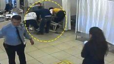 Acil serviste skandal! Yaşlı kadın sedyeden düşürüldü