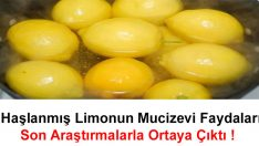 Haşlanmış Limonun Mucizevi Faydaları Son Araştırmalarla Ortaya Çıktı