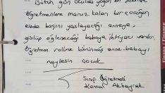 Bir Sınıf Öğretmeninin Öğrencisinin Velisine Gönderdiği Not Paylaşım Kekoru Kırdı