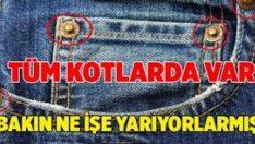 Hayatımızı Kolaylaştıran Kot Pantolonların Köşelerindeki Küçük Düğmeler Hiç Dikkatinizi Çektimi