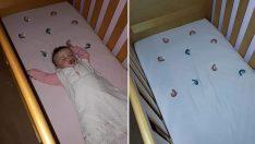 Ve Gelsin derin uykular! Bulduğu yöntemle bebeklerin gece ağlamasına son veren anne!