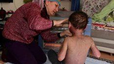 9 yaşındaki Halil'in yürek yakan feryadı: 'Anne artık ölmek istiyorum'