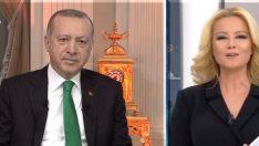 Cumhurbaşkanı Erdoğan Müge Anlı'ya katıldı! Bakın neyin sözünü verdi