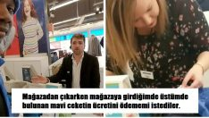 Mağazadan Çıkarken Giydiği Ceketinin Parasını Ödemesini İstediler – Bakın Onları Nasıl Pişman Etti