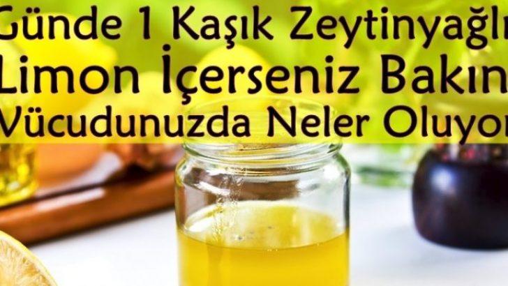 Zeytinyağlı Limon 6 Sağlık Sorunu İçin Tam Anlamıyla Bir Mucize