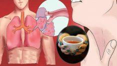 Bu İçecek Akciğerlerinizdeki Mukus'u (Balgam) Anında Temizliyor