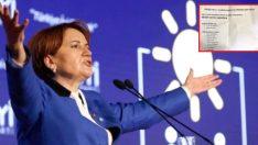 İyi Parti Kongresinde, Oy Zarfından Erdoğan ve Bahçeli'nin Adı Çıktı