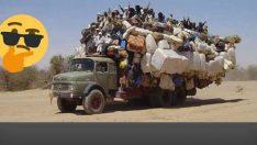 Taşımacılıkta sınırları zorlayıp çığır açan 17 sürücü