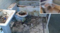 Banyosunda harikalar yarattı! Son hali inanılmaz, Baktıkça temizlik yapma isteği uyandıracak kareler!