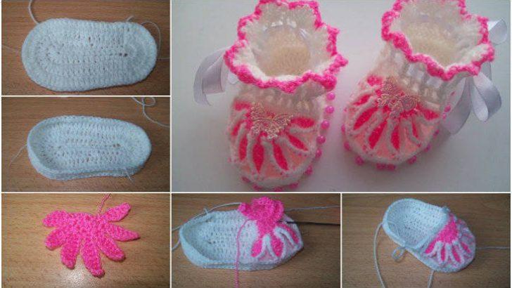 Bebek Patik Modelleri-Bebek Patiği Nasıl Örülür?