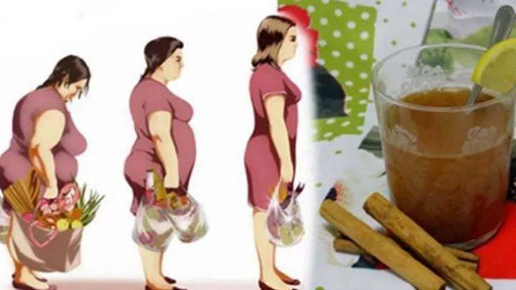 Bu Mucizevi İçecek ile Sadece 1 Haftada 4 Kilo Vermeniz Mümkün
