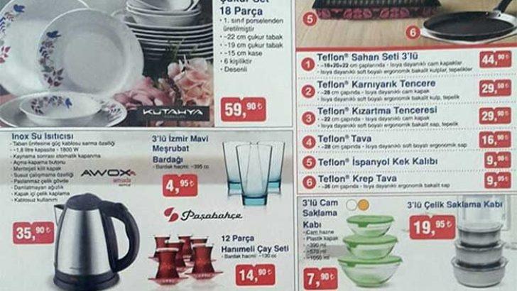 BİM DE ŞOK FIRSATLAR ! YEPYENİ KATALOG YAYINLANDI..