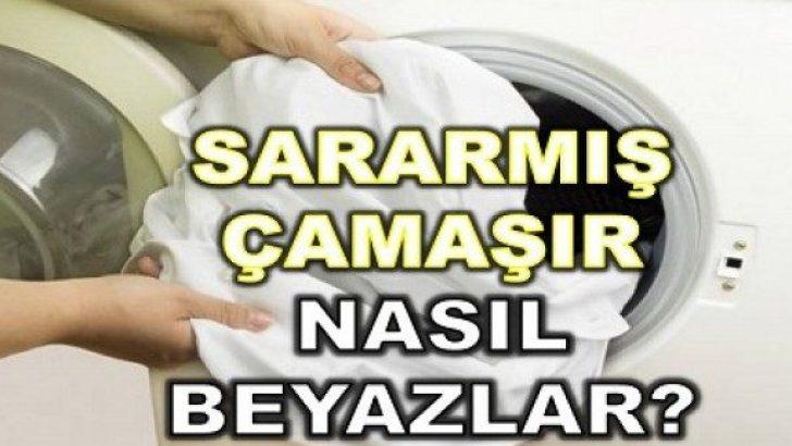 Sararan Çamaşırları Beyazlatma Yöntemleri