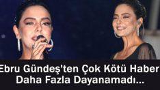 Ebru Gündeş'ten Kötü Haber! Eşi Reza Zarrab'ın Tutuklanması Ve Mallarına El Konulmasına Daha Fazla Dayanamadı…