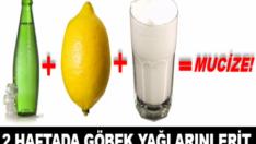 Soda Ayran Limon ile Zayıflama Kürü