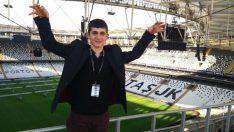 Minibüste 4 Kişinin Dövdüğü İşitme Engelli Agit Acun, Beşiktaş'ın Stadını Gezdi