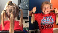 Saçını Uzatıyor Diye Arkadaşları Alay Ettiler. Neden Uzattığını Öğrenince Çocuğa Takdir Diyeceksiniz.