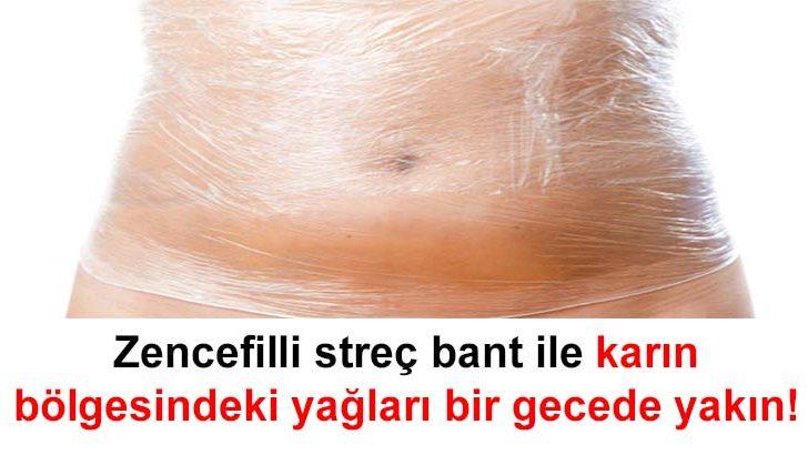 ZENCEFİL ZAYIFLAMA BANDI YAPIMI