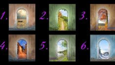Hangi Kapıdan Girmek İsterdiniz? Hayattaki Yolunuzu Size Söyleyecek Olan Kapı Testi