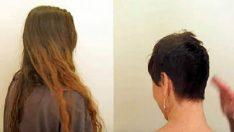 40 Yaşındaki Kadın Saçlarını Kestirdi – Aynaya Bakınca Kendisine İnanamadı