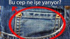 Pantolonlardaki minik cepler bakın ne işe yarıyor