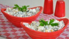 Yoğurtlu Makarna Salatası