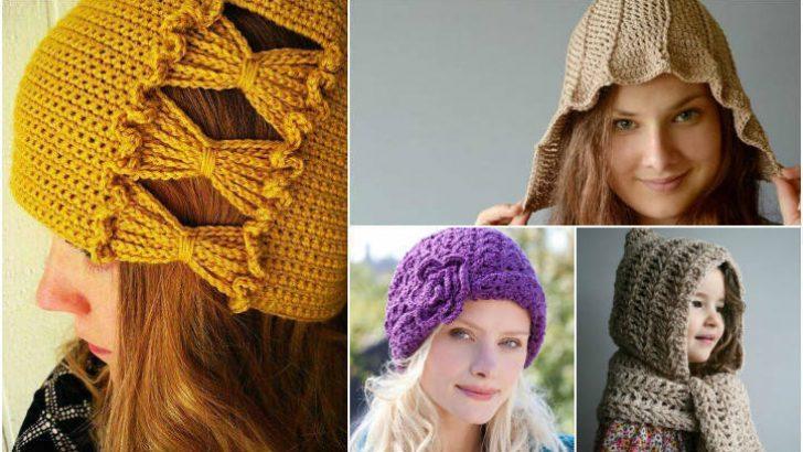Bayan Şapka Örgü Ve Şapka  Bere Modelleri