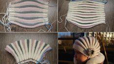 Örgü Şapka Modelleri-Çocuklar ve Bayanlar İçin Örgü Şapka