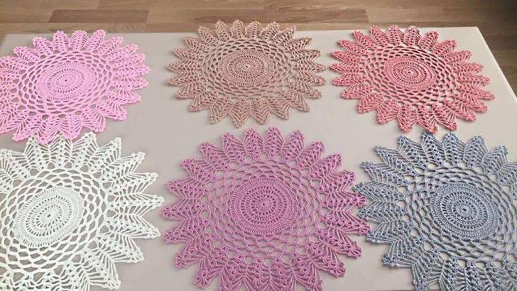 Renkli İplerle  Supla  Modeli Yapımı