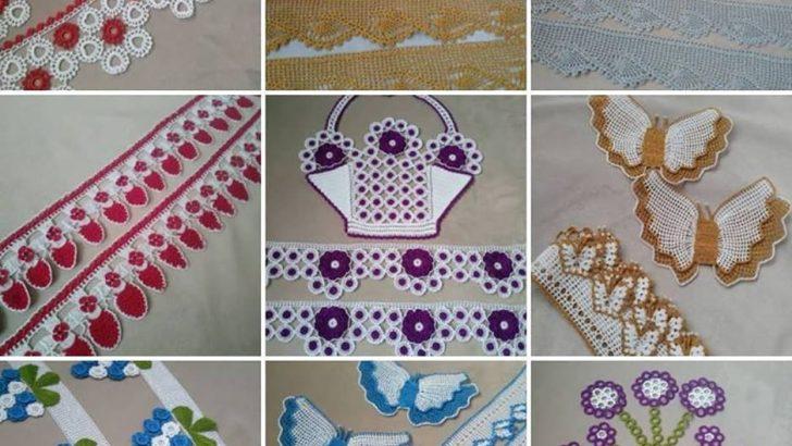 Havlu kenarı örnekleri  dantel ve iğne oyası modelleri