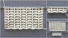 Çiçekli Dalgalar Örgü Modeli Yapım Aşamalı