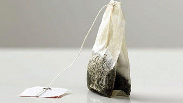 Kullanılmış Çay Poşetlerini Değerlendirin