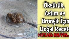 Öksürük, Astım ve Bronşit İçin Doğal Reçete