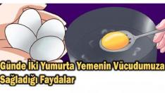 Günde İki Yumurta Yemenin Vücudumuza Sağladığı Faydaları