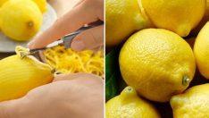 Limon Kabuğunu Daha Önce Hiç Böyle Kullanmadınız