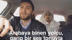 Taksiye binen Azrâil; Arabaya binen yolcu, garip bir ses tonuyla ben Azrâil'im